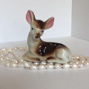Little Fawn, Deer, Vintage Porcelain figurine
